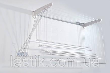 Сушка для белья Jumbo Steed настенная подвесная 200 см, фото 2