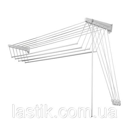 Сушарка для білизни Jumbo Steed настінна підвісних 200 см, фото 2