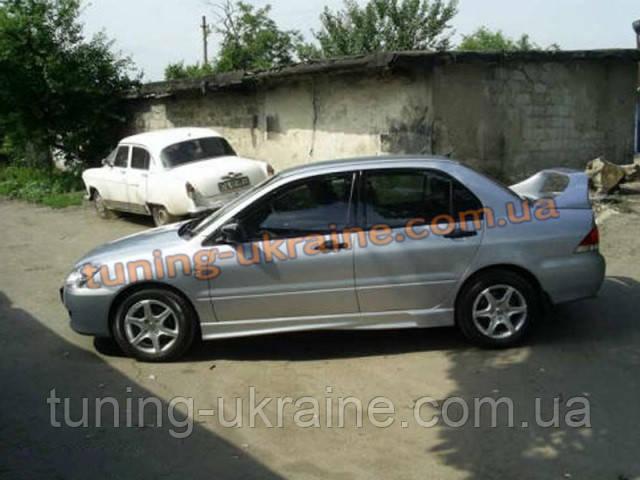 Пороги универсальные №3 Honda Accord 9 2012-2014