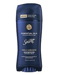 Твердий дезодорант-антиперспірант Secret Vanilla and Sandalwood