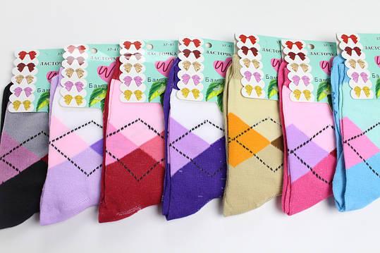 Носки женские бамбук 37-41 «Ласточка», фото 2