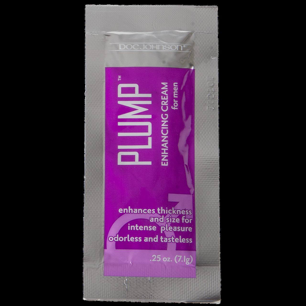 Крем для збільшення члена Doc Johnson Plump - Enhancing Cream For Men (7 гр)