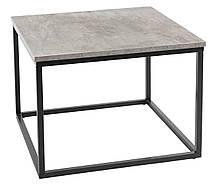 Столик з кераміки квадратний 60x60 см (Оздоблення під бетон)