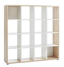 Роздільник кімнати (етажерка) на 16 полиць , bobi