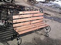 Кованые скамейки парковые