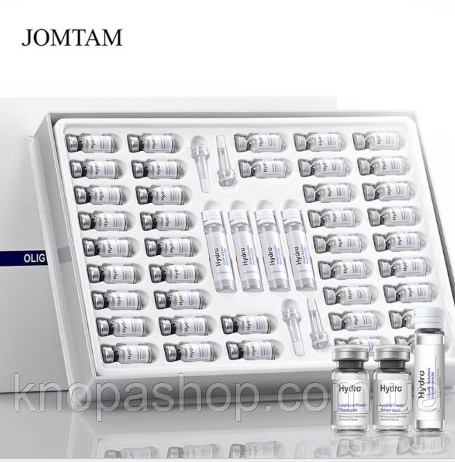 Набір есенцій олигопептид Jomtam 300 мг x 20 шт. + 3 мл x 20 шт. + 10 мл x 4 шт.