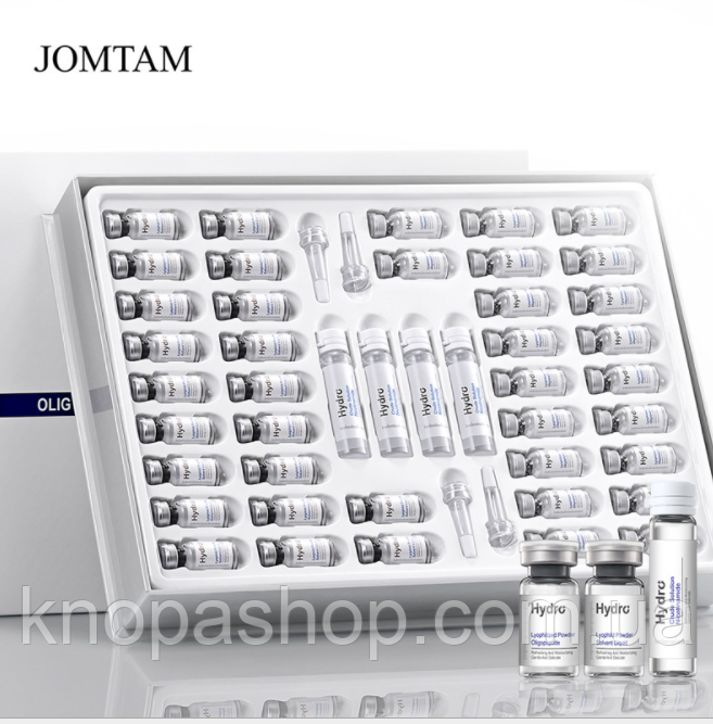 Набор эссенций олигопептид Jomtam  300 мг x 20 шт. + 3 мл x 20 шт. + 10 мл x 4 шт.