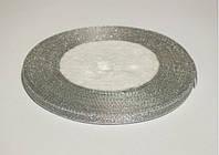 Лента парча (люрекс) 0,7 серебро