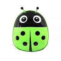 Детский рюкзак с твердым корпусом Lesko Ladybug 229 Зеленый, фото 1