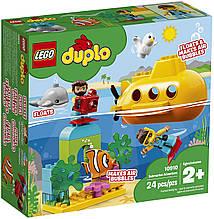Конструктор LEGO DUPLO 10910 Путешествие субмарины
