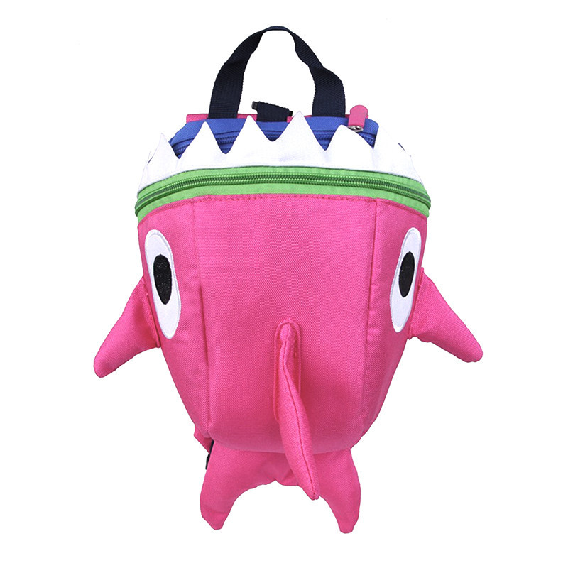 Дитячий рюкзак Baby Shark Lesko 5815 Рожевий