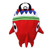 Детский рюкзак Baby Shark Lesko 5815 Красный, фото 1