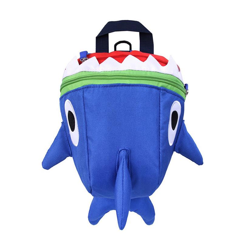 Детский рюкзак Baby Shark Lesko 5815 Темно-синий