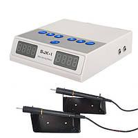 Цыфровой электрошпатель на две ручки SJK-1