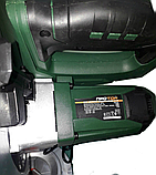 Пила торцювальна Протон ПДТ-211/П, 1800 Вт, 5000 об/хв, диск 210 мм, протяжка, поворотний стіл, фото 4