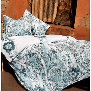 Постельное белье Lotus Premium - Madeleine бирюзовый евро (2000022072243)