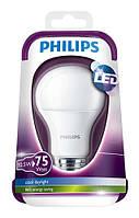 Лед лампа Philips Bulb 10,5W E27 3000K