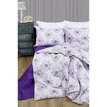 Постельное белье Lotus Premium - Anna лиловый евро (2000022193320)