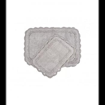 Набор ковриков Irya - Darya gri серый 60*90+40*60 (svt-2000022264563)