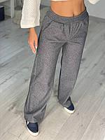 Женские кашемировые брюки-клеш