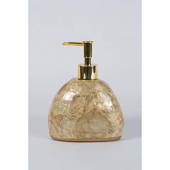 Дозатор для мила Irya - Псоріаз gold золотий (svt-2000022242202)