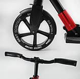 """Складной самокат с двумя полиуретановыми колесами, максимальная нагрузка до 100 кг """"Best Scooter"""" 11391, фото 7"""