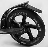 """Складаний самокат з двома поліуретановими колесами, максимальне навантаження до 100 кг """"Best Scooter"""" 11391, фото 2"""
