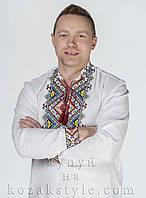 Вишиванка з яскравою 4-х барвною вишивкою, фото 1