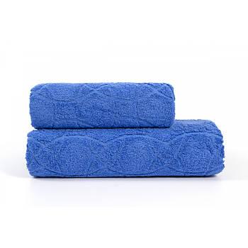 Полотенце Iris Home - Жаккард palace blue 70*140 (svt-2000022265089)