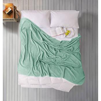 Простирадло Iris Home махрова - Malahite green 190*220 (svt-2000022277242)