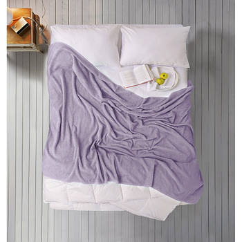 Простирадло Iris Home махрова - Wisteria 190*220 (svt-2000022280808)