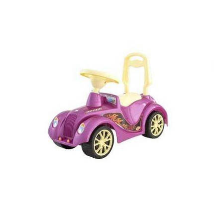 Машинка для катания РЕТРО розовая, ТМ Орион, 900роз, фото 2