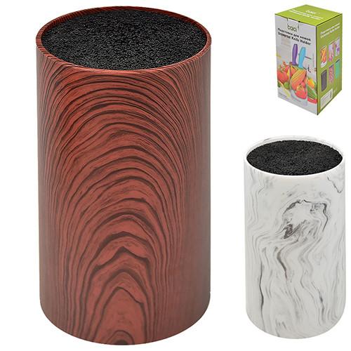 """Подставка для ножей универсальная """"Marble"""", 2 вида, 22.5*10.5 см, R30521"""