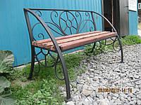 Лавочки скамейки из металла