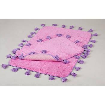 Набор ковриков Irya - Joy pembe розовый 60*90+40*60 (11913986372795)