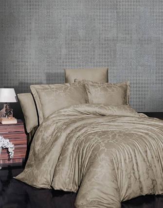 Постельное белье First Choice Satin Jaсquard Cotton евро, 2042_saral_badem, фото 2