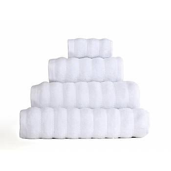 Полотенце Irya - Frizz microline beyaz белый 70*130 (10912926110494)