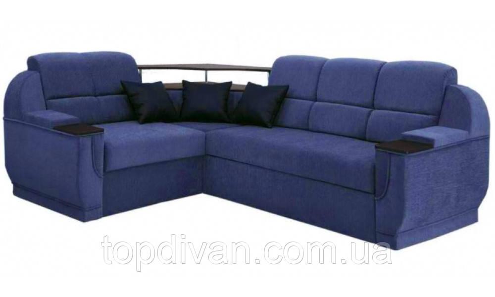 """Кутовий диван """"Бенвинито"""" Аляска 11 (кут взаємозамінний)"""
