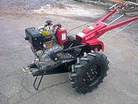 Мотоблок Булат ВТ1212Е (дизель 12 л.с. воздушное охл., электростартер) Бесплатная доставка, фото 1