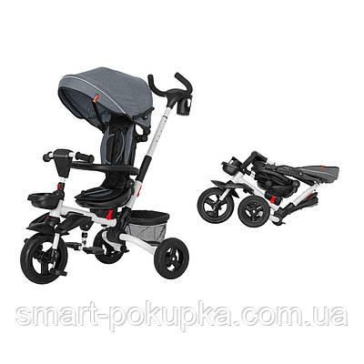 Велосипед триколісний TILLY FLIP T-390 Чорний/1/