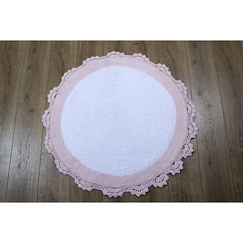 Килимок Irya - Doreen pembe-beyaz рожевий 90*90 (11913985276681)