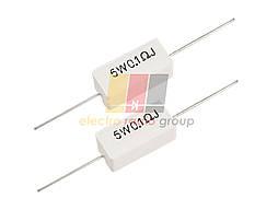 Резистор  5W      0.1 R 5% горизонтальный
