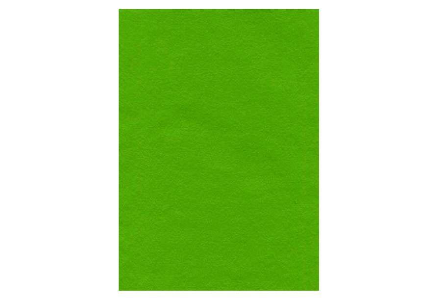 Фетр, 10 аркушів, 2 мм, 20 * 30см, світло-зелений, 7785
