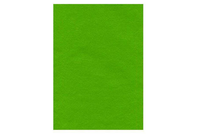 Фетр, 10 аркушів, 2 мм, 20 * 30см, світло-зелений, 7785, фото 2
