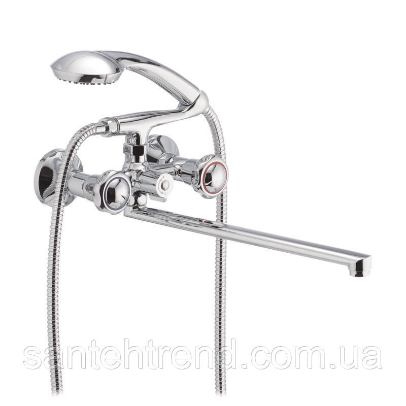 Змішувач для ванни Chrome 140 HB0915 Mega HAIBA