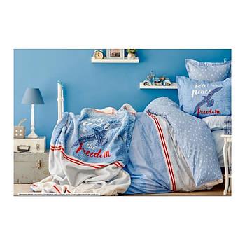 Постельное белье Karaca Home - Freedom 2018-1 ранфорс подростковое (простынь 160*240) (svt-2000022254205)
