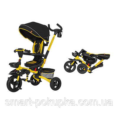 Велосипед триколісний TILLY FLIP T-390 Жовтий/1/