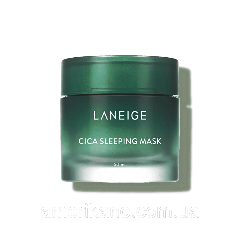 Нічна маска для проблемної шкіри LANEIGE Cica Sleeping Mask, 60 мл