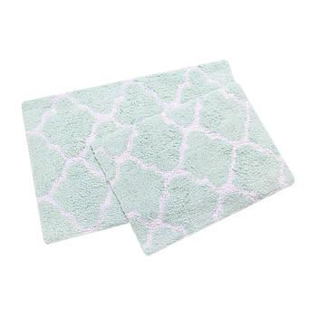 Набір килимків Irya - Bali aqua 50*80+45*60 (2000022195027)