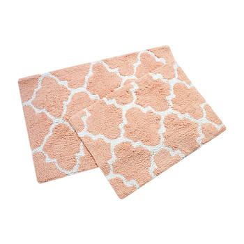 Набір килимків Irya - Bali narcicegi персиковий 50*80+45*60 (2000022195065)